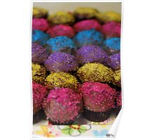 Candy Cupcakes II Poster