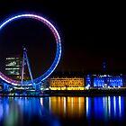 London Eye by Richie Wessen