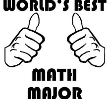 World's Best Math Major by GiftIdea