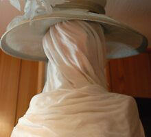 hat on wrapped model by linsads