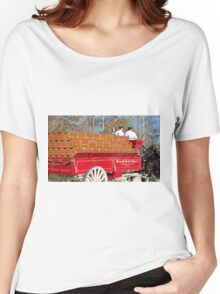Budweiser Wagon Women's Relaxed Fit T-Shirt