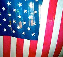 American Flag by Jonathan  Green