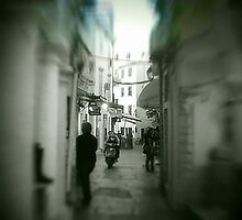 Bike alley!... Corfu Old town by fruitcake