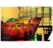 Dredger & New BBC Building Poster