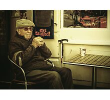 Anti-social Old Fart Photographic Print