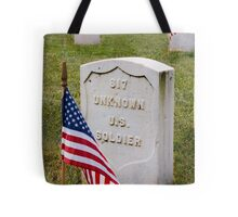 Unknown Hero on Memorial Day Tote Bag