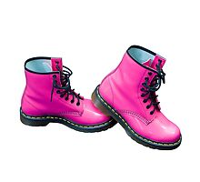 Hot Pink Safety Boots by MarkUK97