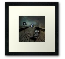 Someone's Always Watching Framed Print
