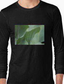 Green Leaves Long Sleeve T-Shirt