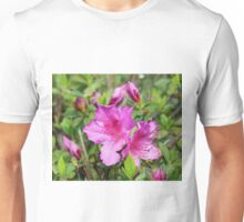 Pretty In Pink Flowers Unisex T-Shirt