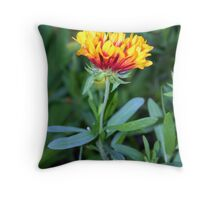 Sleeping Flower Throw Pillow