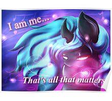 I am Me by AstroboyGF Poster