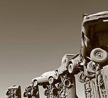 Carhenge by Rachel Sonnenschein