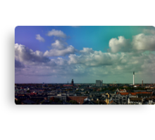 Crazy Rainbow Canvas Print