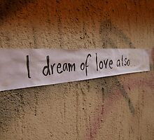 I dream of love also  by natapee