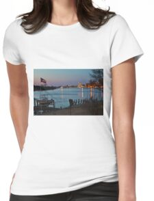 Wilmington Riverfront Womens Fitted T-Shirt