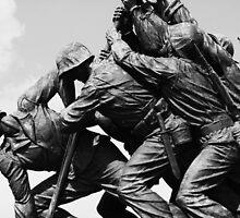 Iwa Jima Monument by Sarah Bonham