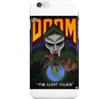 MF DOOM ILLEST VILLAIN iPhone Case/Skin