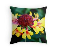 Flower With Flowers Throw Pillow