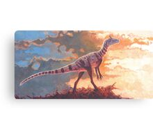 A Scent in the Wind - Cryolophosaurus Canvas Print