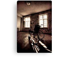 Wheelchair Canvas Print