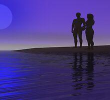 A Romantic Silhouette. by mairin