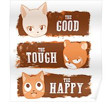 The Good, The Tough and The Happy Poster