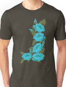 Blue Roses  Retro Revival Clothing Unisex T-Shirt