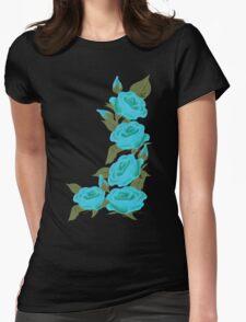 Blue Roses  Retro Revival Clothing T-Shirt