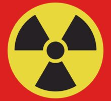 Nuclear Symbol Kids Clothes