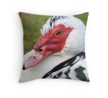 Muscovy Duck (Ely) Throw Pillow