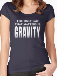 The One Law Women's Fitted Scoop T-Shirt