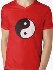 Yin Yang Symbol Mens V-Neck T-Shirt
