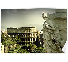 Colosseum  - ROME Poster