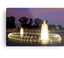Twilight in Washington DC Metal Print