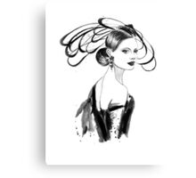 Fashion woman Canvas Print