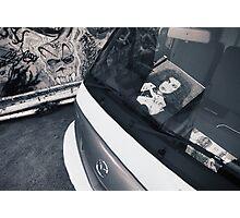 graffitti mirrored Photographic Print