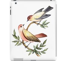 Bird lovers iPad Case/Skin