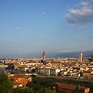 Overlooking Florence by CherylBee