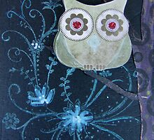 Owl of Paper n Ink by georgiegirl