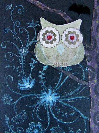 Owl of Paper n Ink by georgiegirl