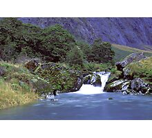 Gertrude Valley, Fiordland National Park Photographic Print