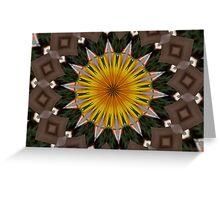 Sun flower Garden Greeting Card