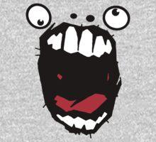 Hey Big Mouth One Piece - Long Sleeve