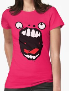 Hey Big Mouth Womens Fitted T-Shirt