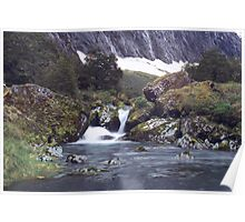 Gertrude Valley, Fiordland National Park Poster