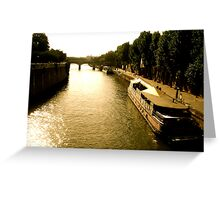 French Water Greeting Card