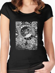 Nautical Nonsense Women's Fitted Scoop T-Shirt