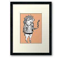Pork Punk  Framed Print