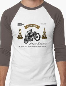 vincent motor shirt Men's Baseball ¾ T-Shirt